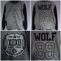 Varsity EXO Wolf 88 GREY