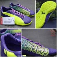 sepatu futsal puma evospeed IC purple