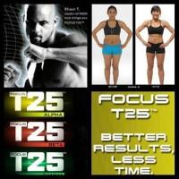 Focus T25 Alpha Beta Gamma Shaun T cukup 25 menit 13 DVD