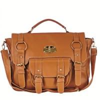 tas perempuan slempang warna coklat