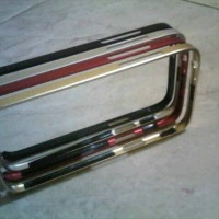 love mei alumunium metal bumper sony xperia z1