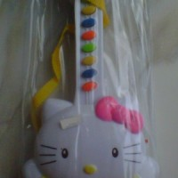 Mainan Gitar Piano Karakter Hello Kitty