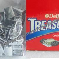 harga Coklat Delfi Kiloan Treasures White & Cookies (500gr / Isi 48pcs) Tokopedia.com