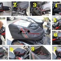 NEW TANKBAG PC SPEED UNTUK MOTOR HONDA CB 150