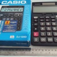 KALKULATOR CASIO DJ 120 D