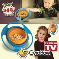 GYROBOWL Mangkok Anti tumpah/ Gyro Bowl mangkuk makan anak baby bayi alat makan peralatan food