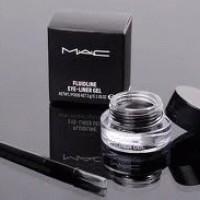MAC Eyeliner Liquid Gel Eye waterproof tahan seharian eyes cosmetic kosmetik gel