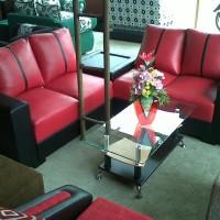 Sofa L sudut premium