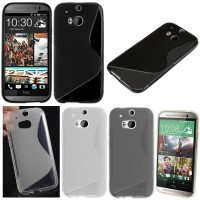 Jual Softcase Gel TPU S-Line Silicone Case HTC One M8