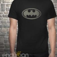 Kaos SuperHero - Logo Batman