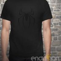Kaos SuperHero - Logo Spiderman