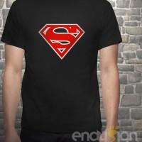 Kaos SuperHero - Logo Superman