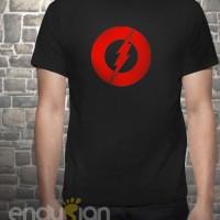 Kaos SuperHero - Logo Flash