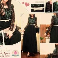 kim159 - black lace evening dress