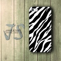 Zebra Print Patern iPhone Case Motif Zebra Patern Hitam Putih Polkadot ,Casing HP,Casing iPhone ,tersedia Type 4 4s 5 5s 5c
