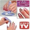 Salon Express Nail Art Stamping Kit Design Decorate Expres Kuku Nails Beauty Kecantikan Cantik Manicure Pedicure As Seen On TV