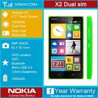 NOKIA X2 RESMI > Nokia ber-Jelly Bean DUAL SIM + Paket Aksesoris nya !