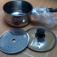 panci kukus kecil 18cm (milk pot with steamer)