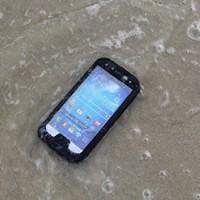 Samsung Galaxy S5 Bumper Full Protection Waterproof DustProof Shockproof Gorilla Glass Metal Case