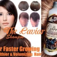 CAVIAR SHAMPOO KUDA Healthier & Volumizing Hair AUSTRALIA 250ML rambut sehat kuat lebat berkilau sampo shampo mirip mane n tail