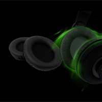 Razer Letherette Ear Cussion (Can be used with ORCA, CARCHARIAS, MEGALODON For More Deep Thumping Bass)