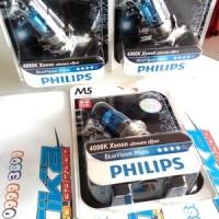 harga Lampu Motor Philips M5 Bluevision Moto 4000k 12v 35w Tokopedia.com