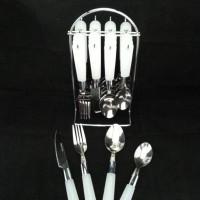 (BIG SALE) sendok/cutlery BISTRO 24 pcs+hanger