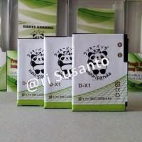 Baterai Rakkipanda D-X1 3000mAh for Blackberry javalin/essex/storm 1/2