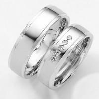 cincin kawin perak lapis emas no 15