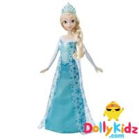 Disney Frozen Sparkle Princess Elsa Doll - Mattel Original USA