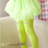 Legging Skirt Bow Green