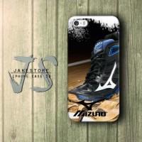 Mizuno Running Shoes iPhone Case Sepatu Apparel Clothing Olahraga , Casing HP, Casing iPhone , tersedia Type 4 4s 5 5s 5c
