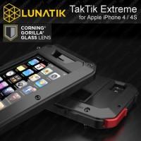 LUNATIK TAKTIK EXTREME IPHONE 4/4S ( GORILLA GLASS ALUMINIUM CASE)