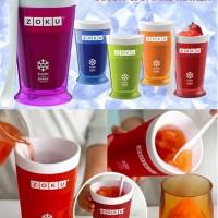 Zoku Gelas Magic Es krim maker Milkshake Slush and Shake Maker