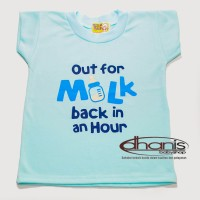 Baju Oblong Bayi Hello Baby Size L - (Dhanis Baby Shop - Toko Online Perlengkapan Bayi Murah)
