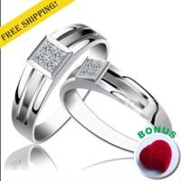 cincin nikah, perak, pasangan, kawin kode A29