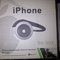 Headset Handsfree bluetooth iphone bh503 model seperti nokia bh-503 original oem