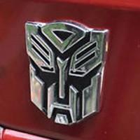Jual Emblem 3D Transformers AUTOBOT Optimus Prime, 8.5X8.0 cm Murah