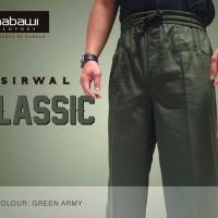 Sirwal Classic Green Army