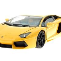 Welly Nex Lamborghini Aventador LP 700-4 - Kuning, Skala 1:18