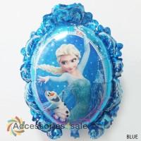 Balon foil tema Frozen