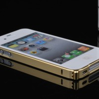 Bumper Metal Gold Iphone 4