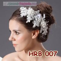 Jual Aksesoris Rambut Pesta l Headpiece Pengantin Wedding Modern - HRB 007 Murah