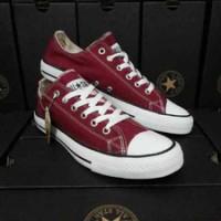 Sepatu casual pria wanita converse all star merah