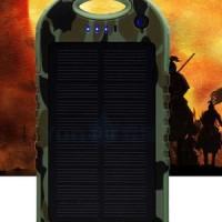 GROSIR SOLAR POWERBANK 12000 mah TENAGA MATAHARI KUALITAS TERJAMIN