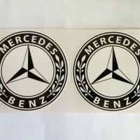 Sticker Mercedes Benz Logo Bintang Small