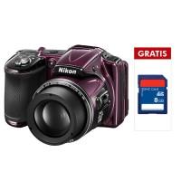 Nikon Coolpix L830 Hitam + SDHC 8GB