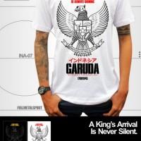 Kaos FMS Garuda kode INA-07 Putih