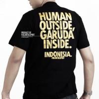 Kaos FMS Garuda kode INA-01 Hitam