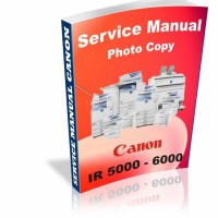 Buku Service Manual Mesin Foto Copy Canon IR5000/6000